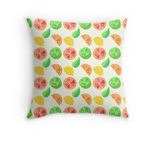 Citrus Pattern Throw Pillow