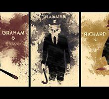 Hotline Miami: Graham, Rasmus & Richard by RBTOENESSX