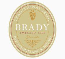 Irish Names Brady Kids Tee