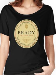 Irish Names Brady Women's Relaxed Fit T-Shirt