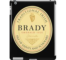 Irish Names Brady iPad Case/Skin