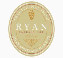 Irish Names Ryan Kids Tee