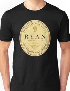 Irish Names Ryan Unisex T-Shirt