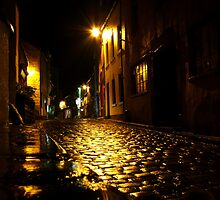 A night in Staithes by mikebov