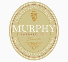 Irish Names Murphy Baby Tee