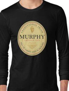 Irish Names Murphy Long Sleeve T-Shirt