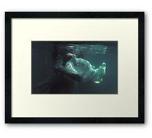 Underwater melancholy Framed Print
