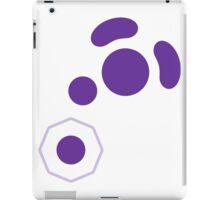 Gamecube Controller Button Symbol - Purple iPad Case/Skin