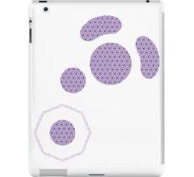 Gamecube Controller Button Symbol - Purple Hexagon Logo iPad Case/Skin