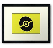 Pokemon Pokeball Electric  Framed Print