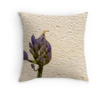Individual Blooms Opening Out Throw Pillow
