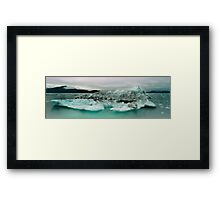 Columbia Bay Framed Print
