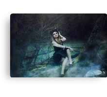 Young Maleficent  Canvas Print