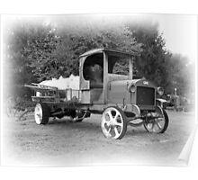 GMC trank truck Poster