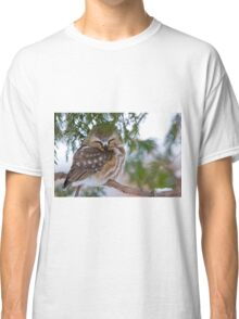 Sleeping Northern Saw Whet Owl - Ottawa, Ontario Classic T-Shirt