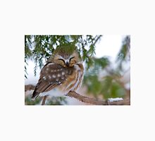 Sleeping Northern Saw Whet Owl - Ottawa, Ontario Unisex T-Shirt