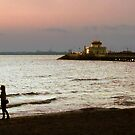 St Kilda Beach Sunset by Roz McQuillan