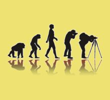 Reflexion Photographer Evolution Kids Tee