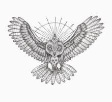 Mason Owl One Piece - Short Sleeve
