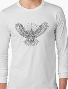 Mason Owl Long Sleeve T-Shirt