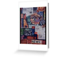 Daily News Greeting Card