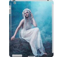 Nymphaea girl forest magical smoke iPad Case/Skin