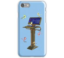 Attack of the Space Bugs .. tee shirt iPhone Case/Skin