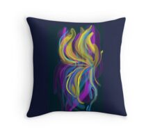 Psychedelic Breeze Throw Pillow