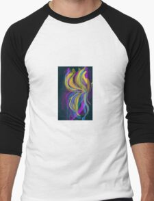 Psychedelic Breeze Men's Baseball ¾ T-Shirt