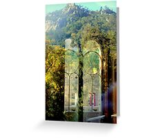 welcome to paradise 221..sintra portugal Greeting Card