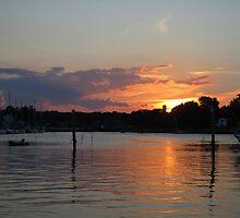 Sunset at Wickford by prpltrtl8