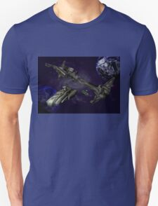 Space Station.. The Aura  Unisex T-Shirt