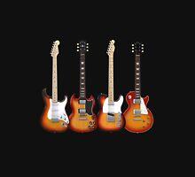 Four Sunburst Guitars T-Shirt