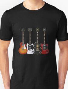 Four Electric Guitars Unisex T-Shirt