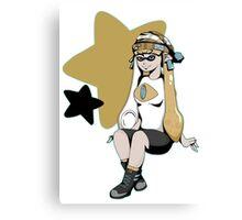 Splatoon/Pokemon - Jirachi Inkling Girl Canvas Print