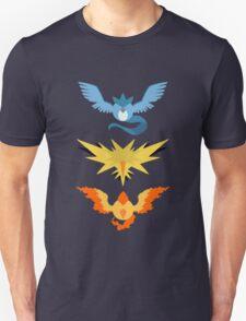 Articuno, Zapdos, Moltres Pokedots T-Shirt