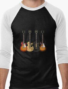 Four Electric Guitars Men's Baseball ¾ T-Shirt