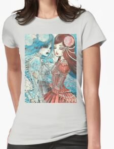 ANOTHER SENSE Womens Fitted T-Shirt