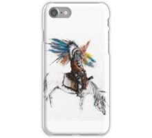 Warrior on Horse iPhone Case/Skin