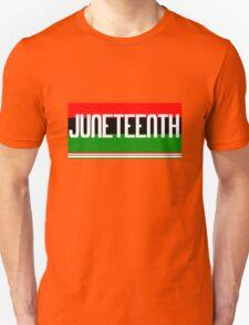 Juneteenth geek funny nerd Unisex T-Shirt
