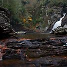 Lower Linville Falls by Forrest Tainio