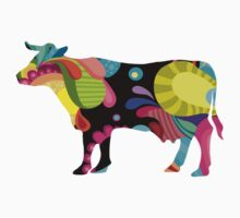 psychedelic cow by EasyArt