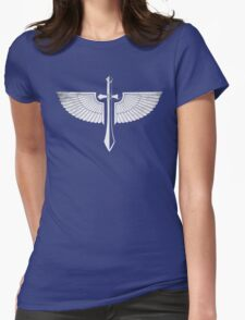 The winged Sword Womens Fitted T-Shirt