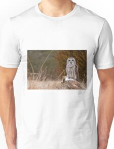 Barred Owl on log T-Shirt