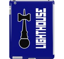 Lighthouse 2 white kendama geek funny nerd iPad Case/Skin