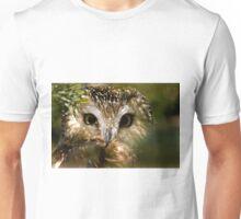 Northern Saw Whet Owl Unisex T-Shirt