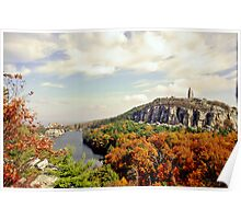 Sky top and Mohonk Mountain House Poster