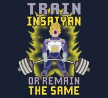 Train Insaiyan or Remain The Same by oolongtees