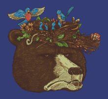 Mr Bears Nature Hat T-Shirt