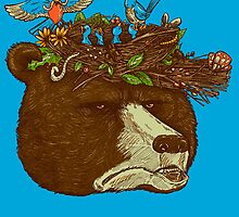 Mr Bears Nature Hat by nickv47